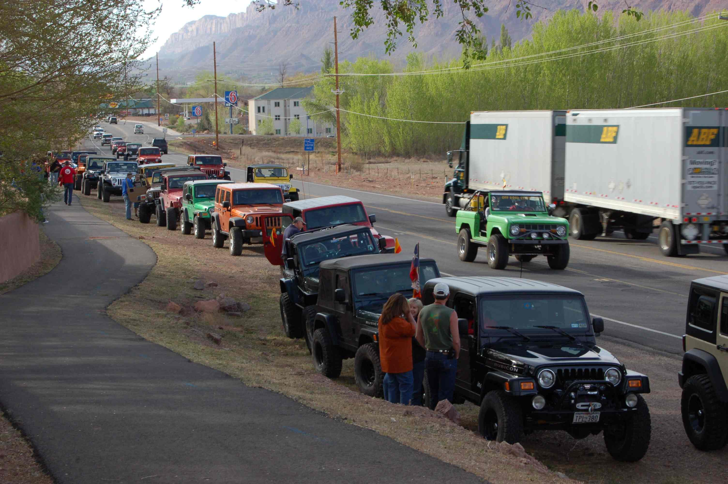Moab jeep week